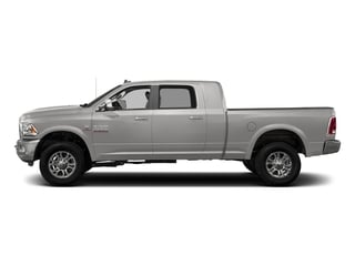 Bright Silver Metallic Clearcoat 2017 Ram Truck 3500 Pictures 3500 Laramie Longhorn 4x2 Mega Cab 6'4 Box photos side view