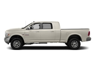 Pearl White 2017 Ram Truck 3500 Pictures 3500 Laramie Longhorn 4x2 Mega Cab 6'4 Box photos side view