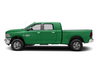Bright Green 2017 Ram Truck 3500 Pictures 3500 SLT 4x2 Mega Cab 6'4 Box photos side view