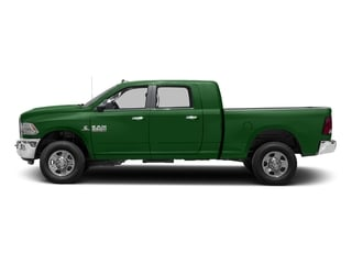Tree Green 2017 Ram Truck 3500 Pictures 3500 Mega Cab SLT 4WD photos side view
