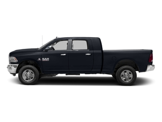 Midnight Blue Pearlcoat 2017 Ram Truck 3500 Pictures 3500 Mega Cab SLT 4WD photos side view