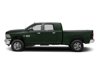 Black Forest Green Pearlcoat 2017 Ram Truck 3500 Pictures 3500 SLT 4x2 Mega Cab 6'4 Box photos side view