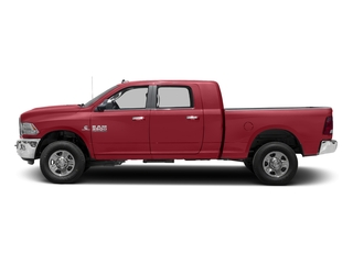 Flame Red Clearcoat 2017 Ram Truck 3500 Pictures 3500 SLT 4x2 Mega Cab 6'4 Box photos side view