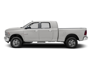 Bright Silver Metallic Clearcoat 2017 Ram Truck 3500 Pictures 3500 SLT 4x2 Mega Cab 6'4 Box photos side view