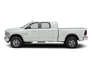 Bright White Clearcoat 2017 Ram Truck 3500 Pictures 3500 Mega Cab SLT 4WD photos side view