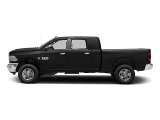 Black Clearcoat 2017 Ram Truck 3500 Pictures 3500 SLT 4x2 Mega Cab 6'4 Box photos side view