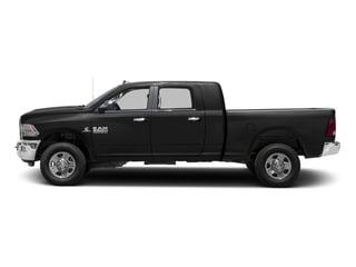 Brilliant Black Crystal Pearlcoat 2017 Ram Truck 3500 Pictures 3500 SLT 4x2 Mega Cab 6'4 Box photos side view