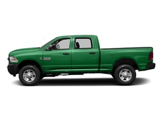 Bright Green 2017 Ram Truck 3500 Pictures 3500 Crew Cab Tradesman 4WD photos side view