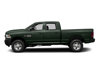 Black Forest Green Pearlcoat 2017 Ram Truck 3500 Pictures 3500 Crew Cab Tradesman 4WD photos side view