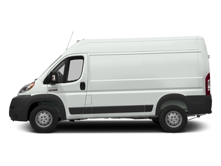 Bright White Clearcoat 2017 Ram Truck ProMaster Cargo Van Pictures ProMaster Cargo Van 1500 High Roof 136 WB photos side view