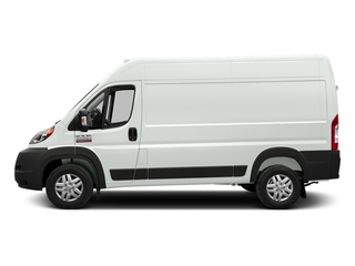 Bright White Clearcoat 2017 Ram Truck ProMaster Cargo Van Pictures ProMaster Cargo Van 2500 High Roof 136 WB photos side view