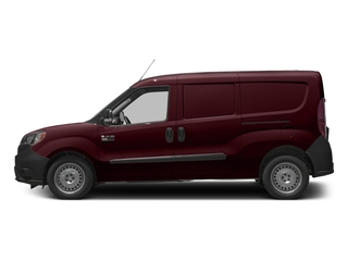 Deep Red Metallic 2017 Ram Truck ProMaster City Cargo Van Pictures ProMaster City Cargo Van Tradesman Van photos side view