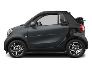 Titania Grey Matte 2017 smart fortwo Pictures fortwo Convertible 2D Prime I3 Turbo photos side view