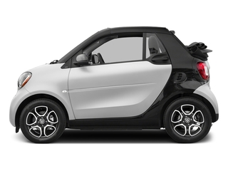 White 2017 smart fortwo Pictures fortwo Convertible 2D Prime I3 Turbo photos side view