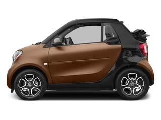 Hazel Brown Metallic 2017 smart fortwo Pictures fortwo Convertible 2D Prime I3 Turbo photos side view