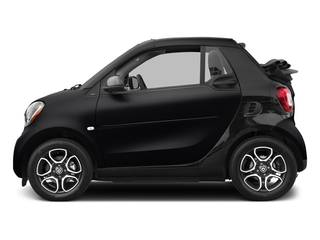 Black 2017 smart fortwo Pictures fortwo Convertible 2D Prime I3 Turbo photos side view
