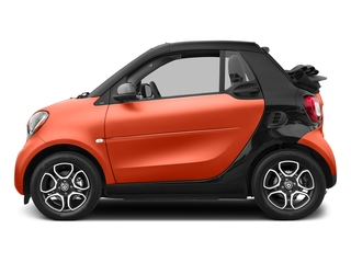 Lava Orange Metallic 2017 smart fortwo Pictures fortwo Convertible 2D Prime I3 Turbo photos side view