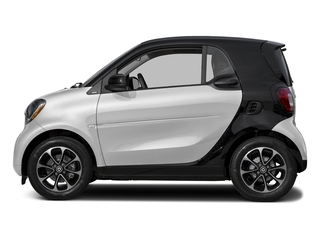 White 2017 smart fortwo Pictures fortwo Coupe 2D Pure I3 Turbo photos side view