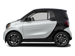 Moon White Matte 2017 smart fortwo Pictures fortwo Coupe 2D Pure I3 Turbo photos side view