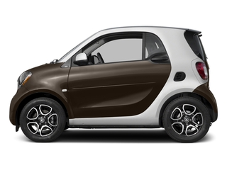 Hazel Brown Metallic 2017 smart fortwo Pictures fortwo Coupe 2D Proxy I3 Turbo photos side view