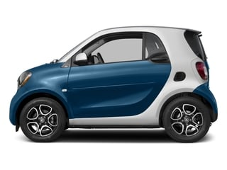 Midnight Blue Metallic 2017 smart fortwo Pictures fortwo Coupe 2D Proxy I3 Turbo photos side view