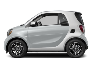 Moon White Matte 2017 smart fortwo Pictures fortwo Coupe 2D Proxy I3 Turbo photos side view