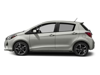 Classic Silver Metallic 2017 Toyota Yaris Pictures Yaris Hatchback 5D SE I4 photos side view