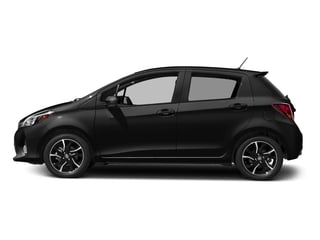 Black Sand Pearl 2017 Toyota Yaris Pictures Yaris Hatchback 5D SE I4 photos side view
