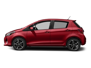 Barcelona Red Metallic 2017 Toyota Yaris Pictures Yaris Hatchback 5D SE I4 photos side view