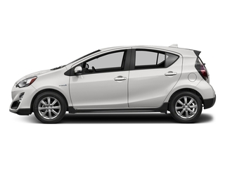 Super White 2017 Toyota Prius c Pictures Prius c Liftback 5D c Four I4 Hybrid photos side view