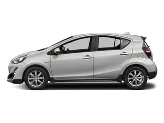 Classic Silver Metallic 2017 Toyota Prius c Pictures Prius c Liftback 5D c Four I4 Hybrid photos side view