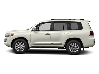 Blizzard Pearl 2017 Toyota Land Cruiser Pictures Land Cruiser Utility 4D 4WD V8 photos side view