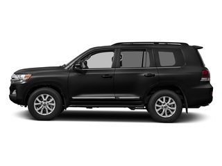 Midnight Black Metallic 2017 Toyota Land Cruiser Pictures Land Cruiser Utility 4D 4WD V8 photos side view