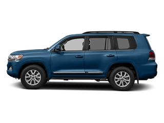Blue Onyx Pearl 2017 Toyota Land Cruiser Pictures Land Cruiser Utility 4D 4WD V8 photos side view