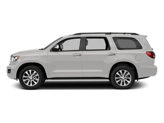 Super White 2017 Toyota Sequoia Pictures Sequoia Utility 4D Limited 2WD V8 photos side view