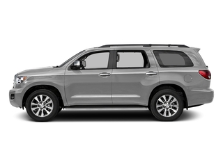 Silver Sky Metallic 2017 Toyota Sequoia Pictures Sequoia Utility 4D Limited 2WD V8 photos side view