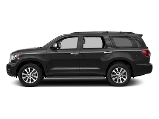 Magnetic Gray Metallic 2017 Toyota Sequoia Pictures Sequoia Utility 4D Limited 2WD V8 photos side view