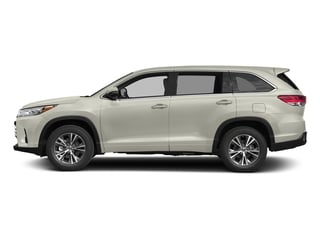 Blizzard Pearl 2017 Toyota Highlander Pictures Highlander Utility 4D LE 4WD V6 photos side view