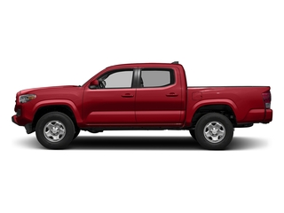 Barcelona Red Metallic 2017 Toyota Tacoma Pictures Tacoma SR Crew Cab 4WD V6 photos side view