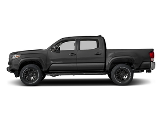 Magnetic Gray Metallic 2017 Toyota Tacoma Pictures Tacoma SR5 Crew Cab 2WD V6 photos side view