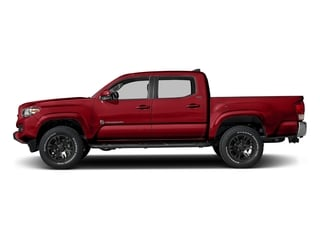Barcelona Red Metallic 2017 Toyota Tacoma Pictures Tacoma SR5 Crew Cab 2WD V6 photos side view