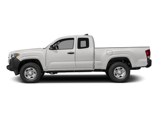 Super White 2017 Toyota Tacoma Pictures Tacoma SR Extended Cab 2WD V6 photos side view