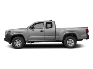 Silver Sky Metallic 2017 Toyota Tacoma Pictures Tacoma SR Extended Cab 2WD V6 photos side view