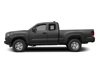 Magnetic Gray Metallic 2017 Toyota Tacoma Pictures Tacoma SR Extended Cab 2WD V6 photos side view