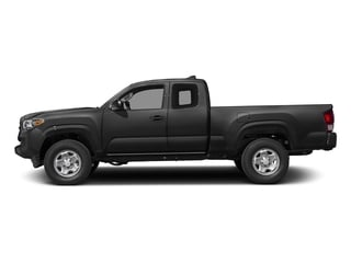 Black 2017 Toyota Tacoma Pictures Tacoma SR Extended Cab 2WD V6 photos side view