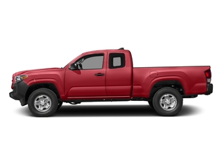 Barcelona Red Metallic 2017 Toyota Tacoma Pictures Tacoma SR Extended Cab 2WD V6 photos side view