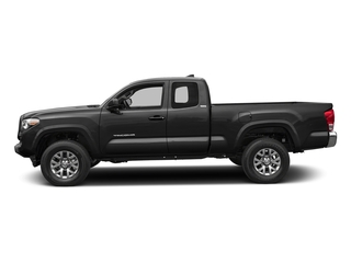 Magnetic Gray Metallic 2017 Toyota Tacoma Pictures Tacoma SR5 Extended Cab 2WD V6 photos side view