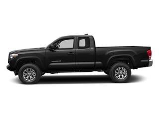 Black 2017 Toyota Tacoma Pictures Tacoma SR5 Extended Cab 2WD V6 photos side view