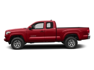 Barcelona Red Metallic 2017 Toyota Tacoma Pictures Tacoma SR5 Extended Cab 2WD V6 photos side view