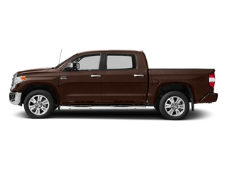 Sunset Bronze Mica 2017 Toyota Tundra 2WD Pictures Tundra 2WD 1794 Edition CrewMax 2WD photos side view